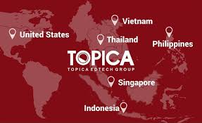 Thailand in Asia (School): TOPICA Edtech Group - Franchise - Thailand