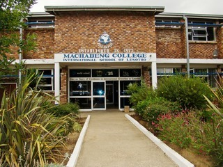 Lesotho in Africa (College): Machabeng College - International School - Africa